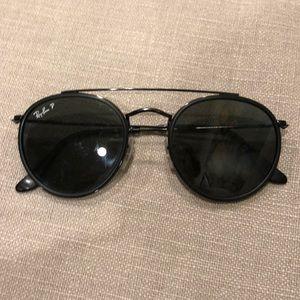 Ray-Ban Sunglasses Round Double Bridge